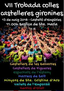 VII Trobada de Colles Castelleres Gironines