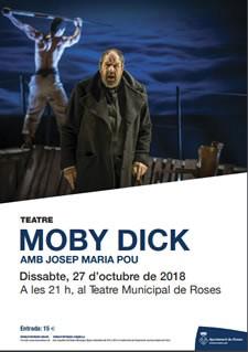 Moby Dick al Teatre de Roses