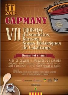 VII Trobada d'Escudelles, Ranxos i Sopes Històriques de Catalunya