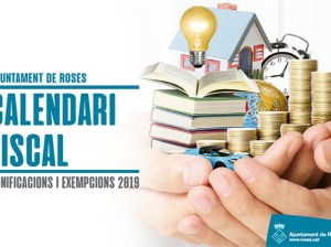 Calendari fiscal de 2019 de l'Ajuntament de Roses