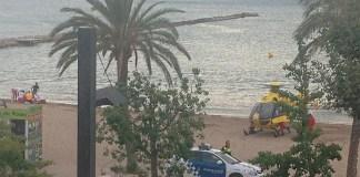 Mor dona ofegada a la platja Nova de Roses