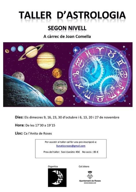 Taller d'Astrologia de Joan Comella