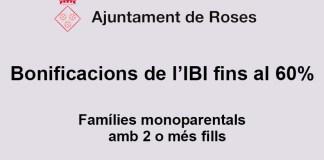 Bonficació de l'IBI a Roses