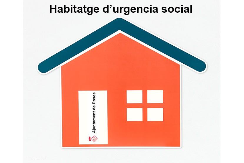 Habitatge d'urgència social a Roses
