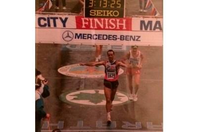Pere Sastre a la marató de Nova York
