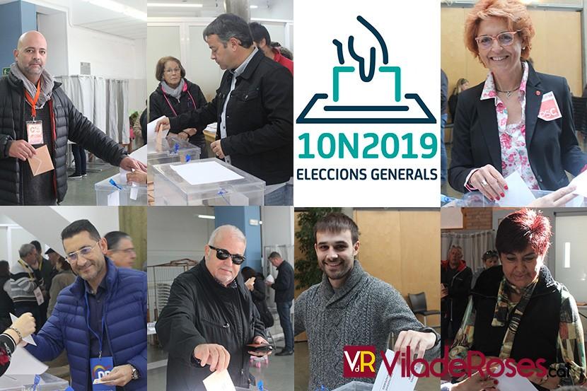 Eleccions generals 10N a Roses