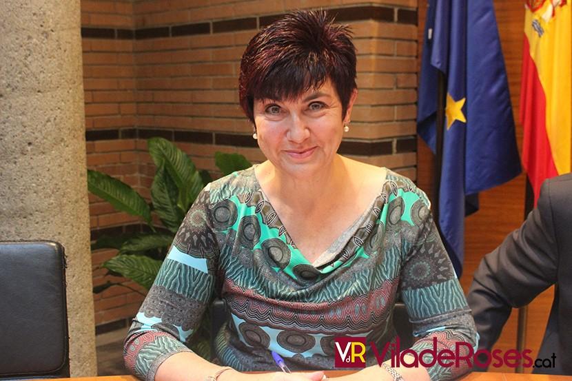 L'alcaldessa de Roses, Montse Mindan