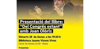 'Del Congrés estant', de Joan Olòriz