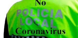 No coronavirus Policia Local de Roses