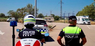 Agents Policial Local Roses negatiu prova PCR Covid-19