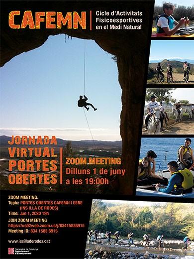 Jornades de Portes Obertes Virtuals a l'Institut Illa de Rodes