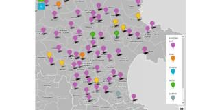 Mapa d'accions solidàries de l'Alt Empordà