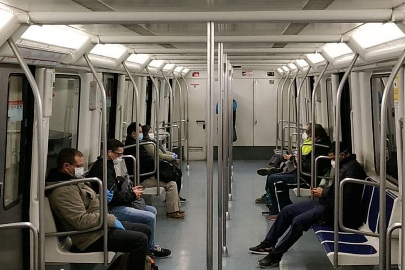 Mascaretes obligatòries en el transport públic