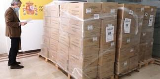 Més de 2,3 milions de mascaretes per a Catalunya