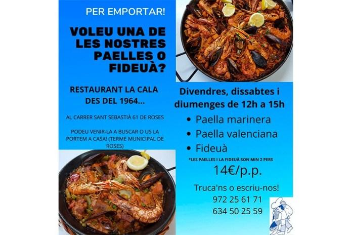Restaurant La Cala de Roses