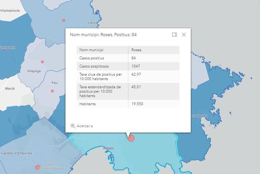 Casos de coronavirus a Roses