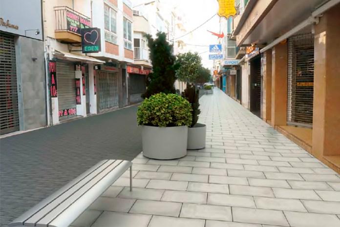 Reurbanització del carrer Doctor Pi i Sunyer de Roses