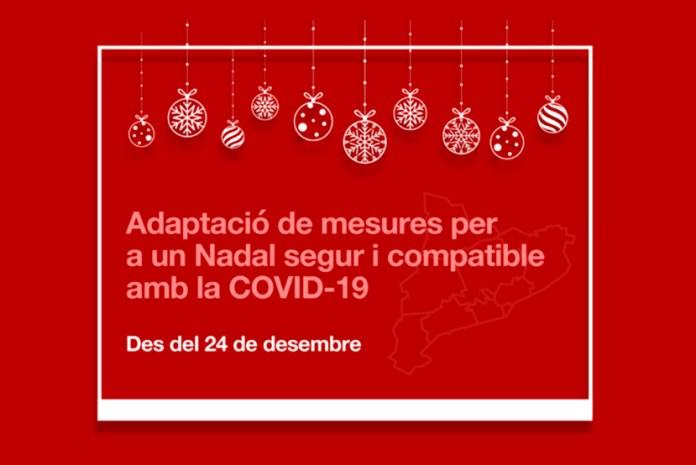 Mesures de seguretat Covid-10 per les festes de Nadal