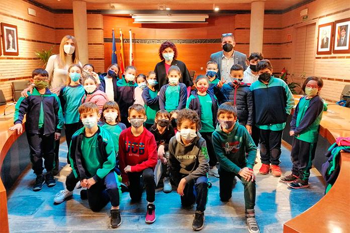 Visita alumnes a l'Ajuntament de Roses