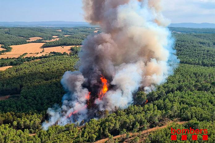 Incendi a Ventalló