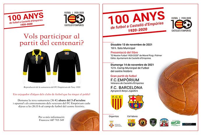 Cent anys de futbol a Castelló d'Empúries