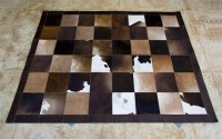 Tapete de couro da artesã Ivânia Barreto