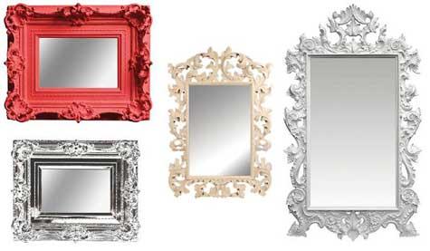 Espelhos mágicos para o ano novo