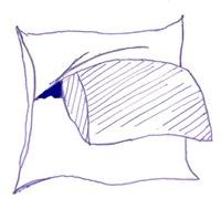 Vista a capa da almofada