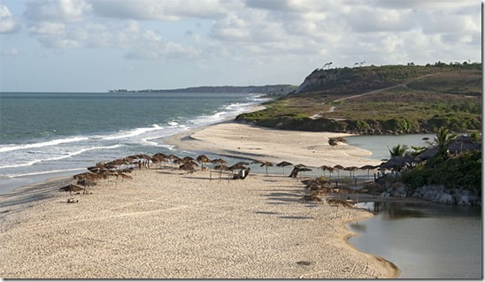 Vista panorâmica de Praia Bela