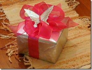 Decore também as embalagens dos presentes