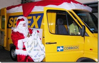 Papai Noel Solidario dos correios