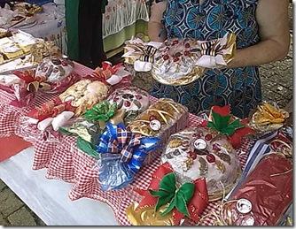 Festa de Natal no Bosque Joaõ Paulo II, doces da Vó Ana