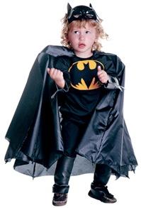 Fantasia de Batman para seu pequeno herói