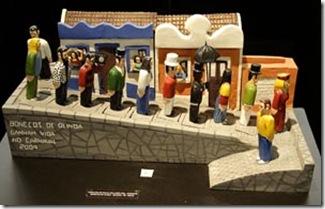 Bonecos de Olinda em cerâmica