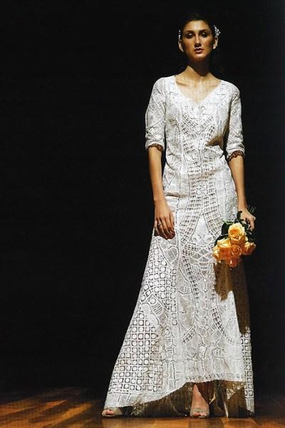 Vestido de noiva, um traje de meses de trabalho