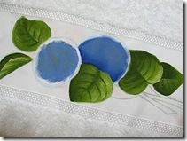 Pinte a cor base das flores