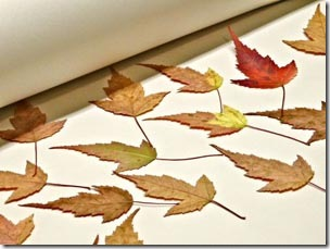 Primeiro prepare suas folhas secas