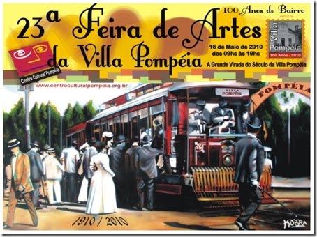23ª Feira de Artes da Villa Pompéia, com a comemoração dos 100 anos do bairro