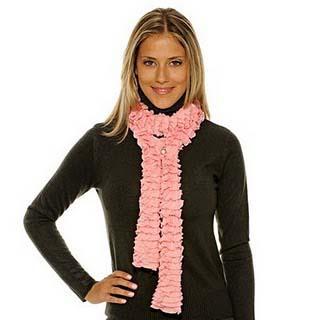 Receitas de tricô: cachecol, gorro e gola