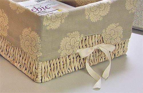 Capa para cestos de fibra