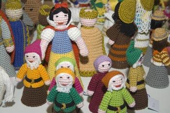 Amigurumis os bonequinhos de crochê