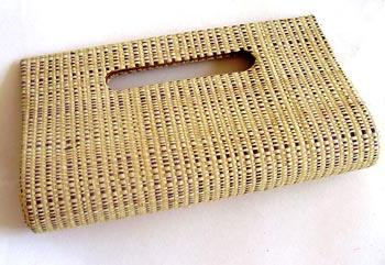 Carteira de palha de buriti