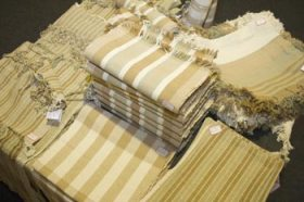 Peças de uso diário em algodão colorido