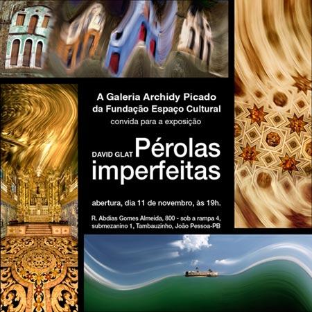 Exposição de fotografia Pérolas Imperfeitas
