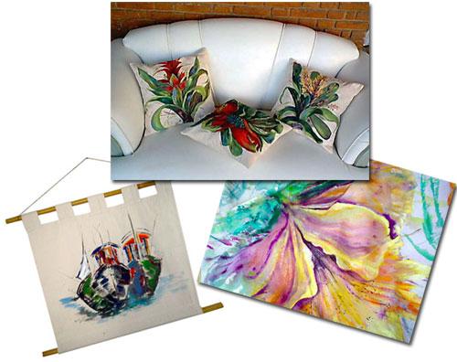 A Meirel também cria peças decorativas