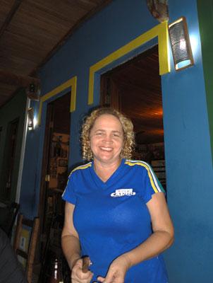 Vita, uma das proprietárias do Vila Cariri