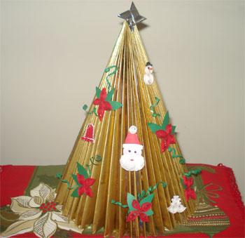 Árvore de origami da Maria Nabão