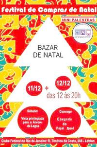 Bazar de Natal da OCP