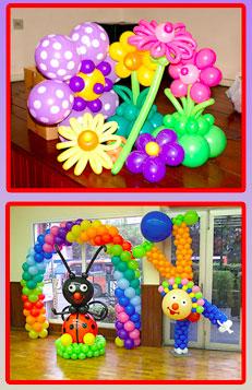 Curso de balões decorativos