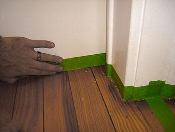 Isolar as paredes do piso
